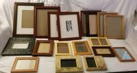 18 WOOD PICTURE FRAMES VARIOUS SIZES 11X14 8X10 Bakersfield, 93311