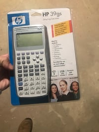HP 39gs  Graphing Calculator  Cumberland, 02864