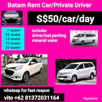 Private driver Batam and Rental car Singapore, 179037