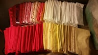 100% Cotton Fabrics- bought for quilting-100yards toal Seattle
