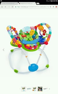 baby's green and blue jumperoo Vaughan, L4K 4Z4