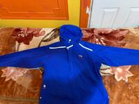 blue and white zip-up hoodie New York, 11220