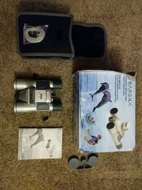 Binoculars with memory stick for pics