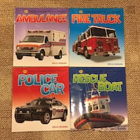4 Children's Books about First Responders & Rescue Vehicles Woodbridge, 22191
