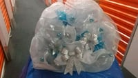 white and blue flower wreath bouquet 227 mi