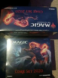 Magic the Gathering 2020  new series unopened cars Edmonton, T6A 0L7