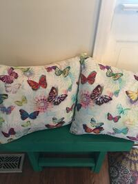 Butterfly pillows set of (2) Wilmington, 28405