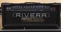 1990's  M100 Rivera amp , if you know your amps you'll know how good these are. Comes with footswitch  Brock, L0C 1H0