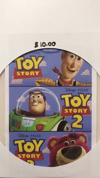 DVD Toy Story  (Trilogy-Part.1.2.3 On One Disc)