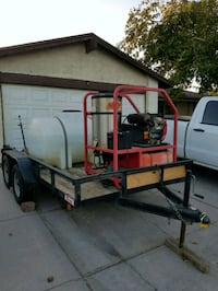 Hot Pressure Washer Trailer Las Vegas, 89104