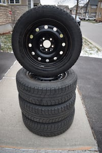 Michelin X-ice winter tires and rims