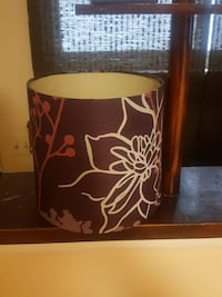 brown and white floral lampshade Southfield, 48075