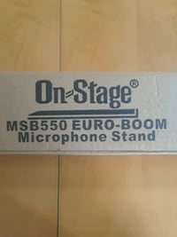 On-Stage MSB550 EuroBoom Mic Stand Oceanside, 92056