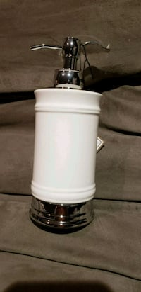 white and gray table lamp Oakville, L6H 6S4