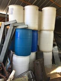 55 gallon water storage containers. Only $20 each! Several available! Pick up in Vista. San Marcos, 92078