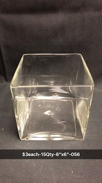 Clear glass container with lid Saint Cloud, 56301