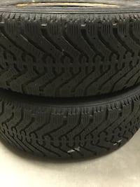 2 Winter tires. Off a Toyota Corolla p165/65/r15. About 80%  left.