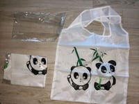 2 new PANDA REUSABLE GROCERY BAGS Manchester, 03103