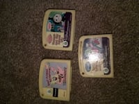 3 LEAP PAD GAMES Mary Esther, 32569