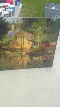 brown and green house painting 731 mi