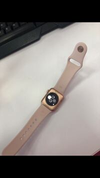 Pink  apple watch with pink band Rockville, 20852