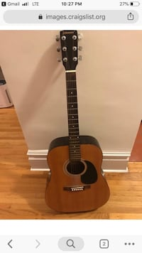Johnson acoustic guitar - used New York, 10012
