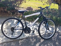 white and black hardtail bike Rockville, 20854