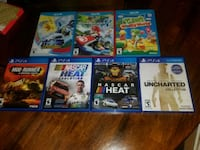 six assorted PS4 game cases Bunker Hill, 25413