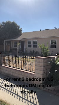 HOUSE For rent 3BR 1.5BA 2275 mi