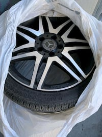 Mercedes tires and rim