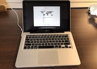 "Apple MacBook Pro 13.3"" Laptop LED Intel i5  2.5GHz 4GB 500GB - MD101LLA Greenbelt, 20770"