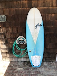 "Nearly New Rusty Muffin Top 6'0"" 40.6L surfboard Costa Mesa, 92627"