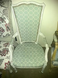 white and gray padded armchair Fresno, 93704