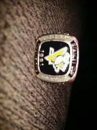 Pittsburgh pens Stanley Cup ring 1991 Guelph, N1E
