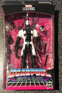 Deadpool back in black 6 inch action figure marvel legends New York