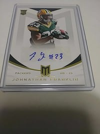 Packers signed card Palmdale, 93552