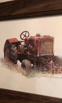 "Picture of tractor""Oliver"" Toronto, M9A 3T5"