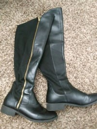 Black high boots Vallejo, 94590