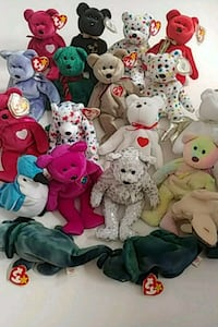 Various Ty Beanie Babies for sale Toronto, M9C 5C6