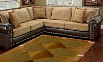 NAPOLEON BROWN SECTIONAL