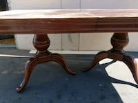Clawfoot table for 6 Orange, 92868