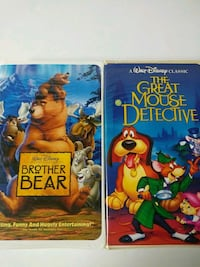 Brother Bear and The Great Mouse Detective (black