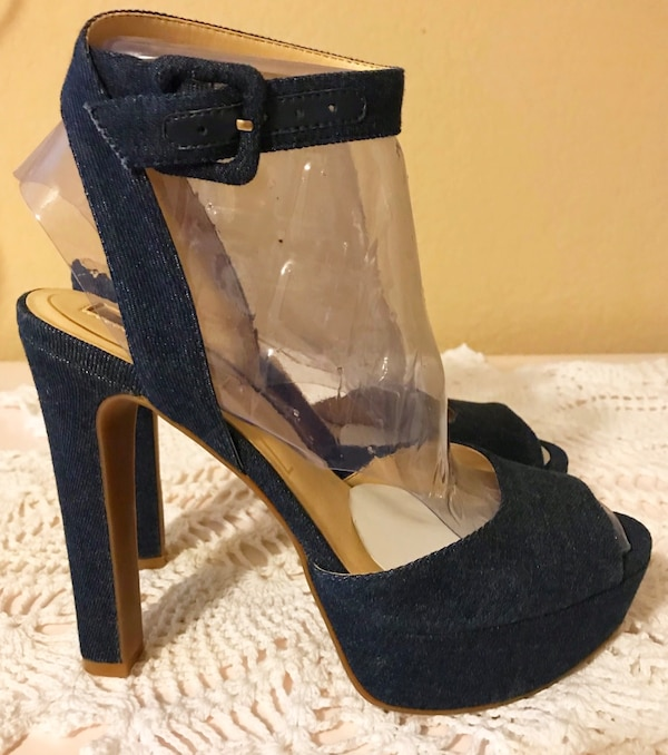 6dca383a1e0 Used NEW! Jessica Simpson Denim Heels size 6 for sale in Upland - letgo