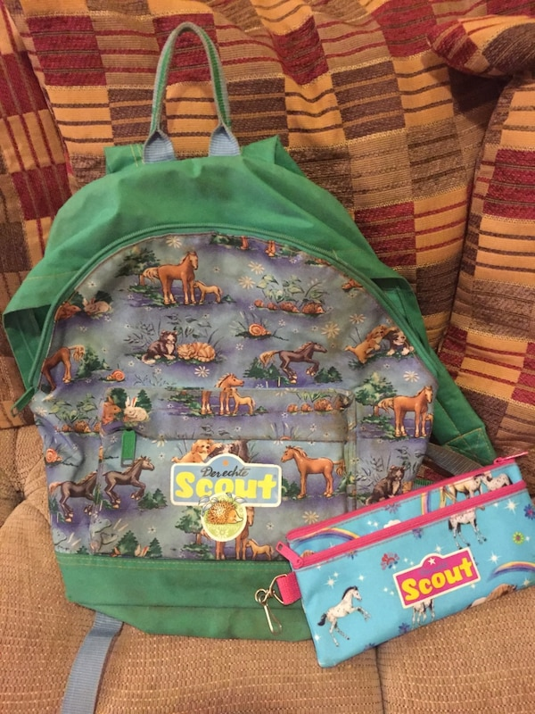 Cute scout backpack