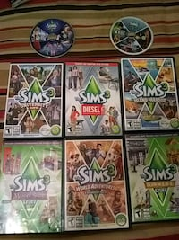 Sims 3 expansions (all if not most) 574 mi