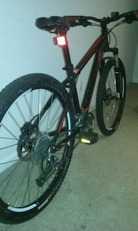 black and red hardtail mountain bike Alexandria, 22306