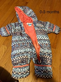 Columbia 0-3 Month Girl Snowsuit Barrie, L4N 8T4