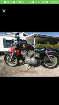 red and black cruiser motorcycle McCalla, 35111