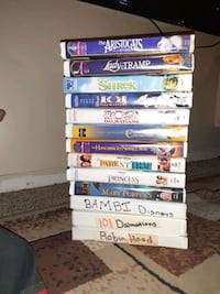 Collection of 52 disney movies Plant City, 33565