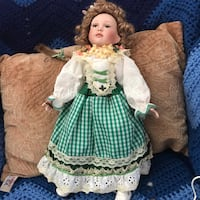 girl in green dress doll Rockville, 20853